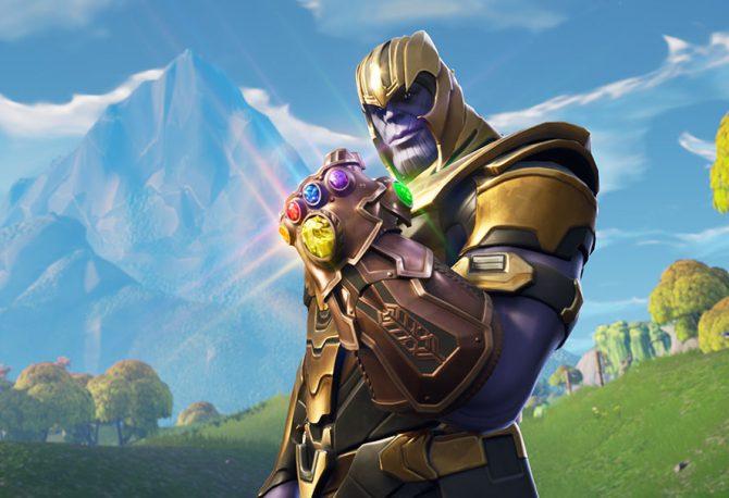 Best Thanos NA - Fortnite Highlight