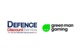 Green Man Gaming partners with Defence Discount Service in the UK