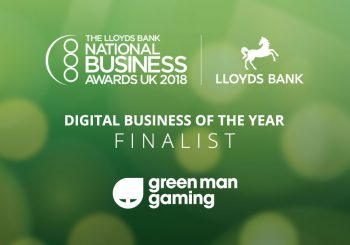 Green Man Gaming Finalist in National Business Awards 2018