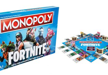 Fortnite Monopoly Board Game Coming In October