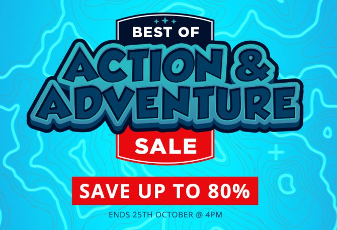 Top picks from our Action and Adventure Sale
