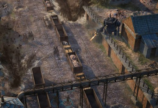 Dieselpunk WWI RTS Iron Harvest enters alpha on Steam