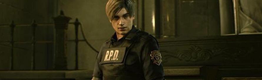 Leon Kennedy in Resident Evil 2 Remake