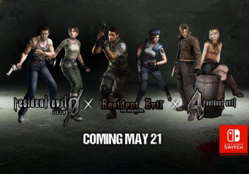 Resident Evil 0, 1 and 4 heading to Switch in May