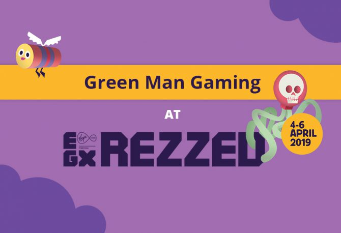 Spot Green Man Gaming at the London Games Festival