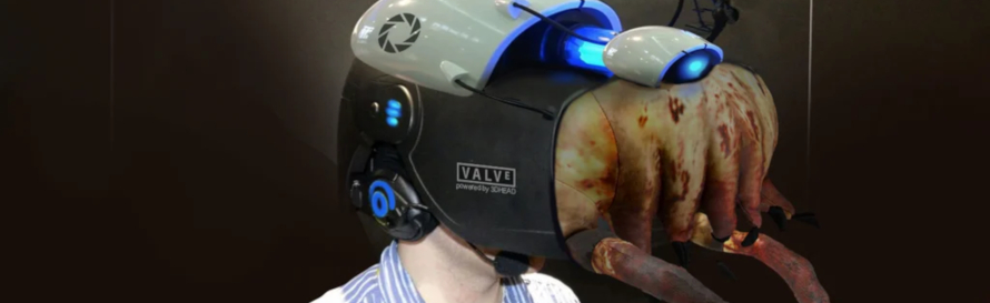 The Valve Index super deluxe Half life 3 edition