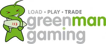 Green man Gaming's first year logo
