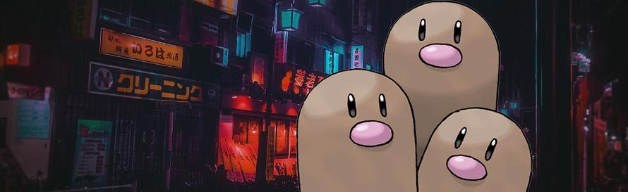 Pokemon Dugtrio