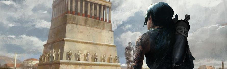 Lara Croft at Halicarnassus