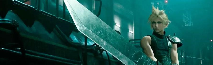 Clouds Buster Sword from Final Fantasy VII