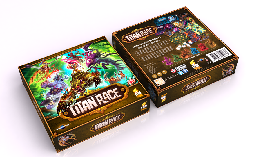 Titan Race box