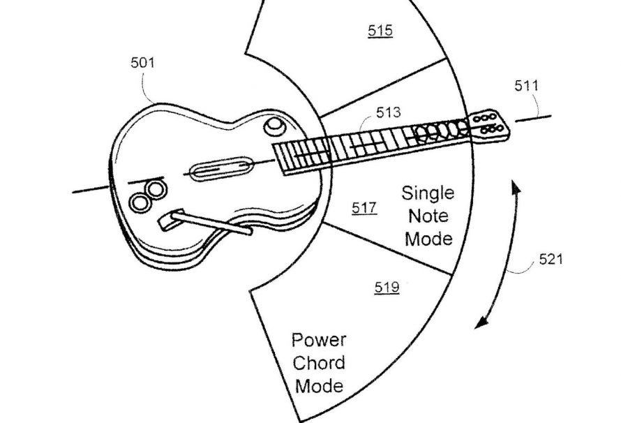 Patent application hints at new Guitar Hero
