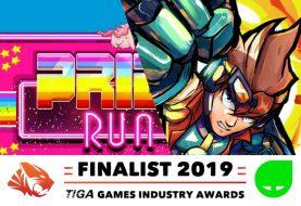 Skybolt Zack & Pride Run Nominated for TIGA awards