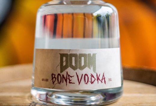 Doom to get officially licensed bone vodka