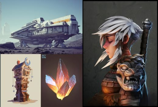 The best beginner software to start your Pixel, 2D or 3D Game Art journey
