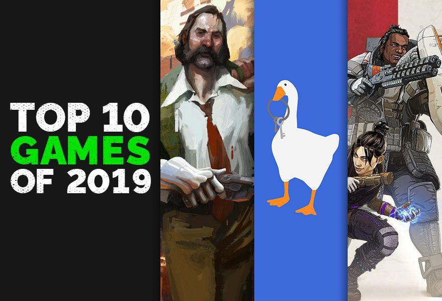 Green man Gamings Top 10 Games of 2019