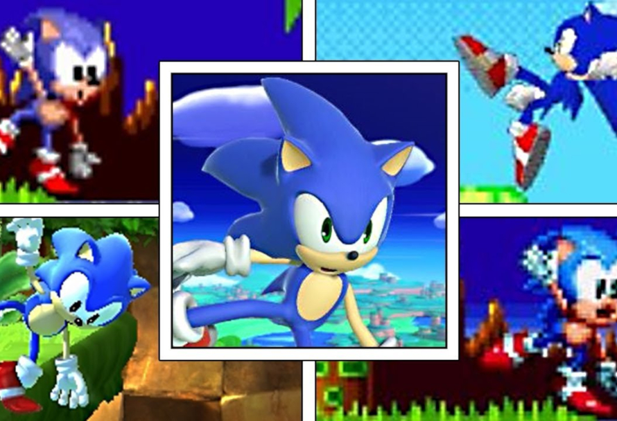 The Evolution Of Sonic The Hedgehog Greenmangaming