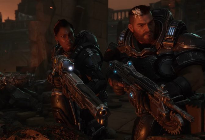 Gears Tactics Character Customisation guide