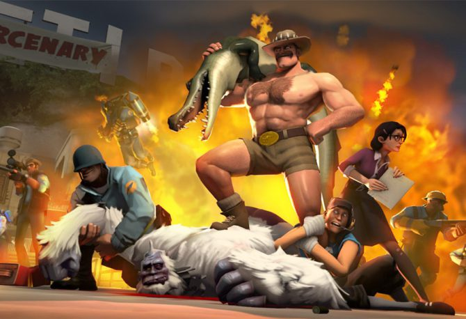 Which Class to Pick in Team Fortress 2