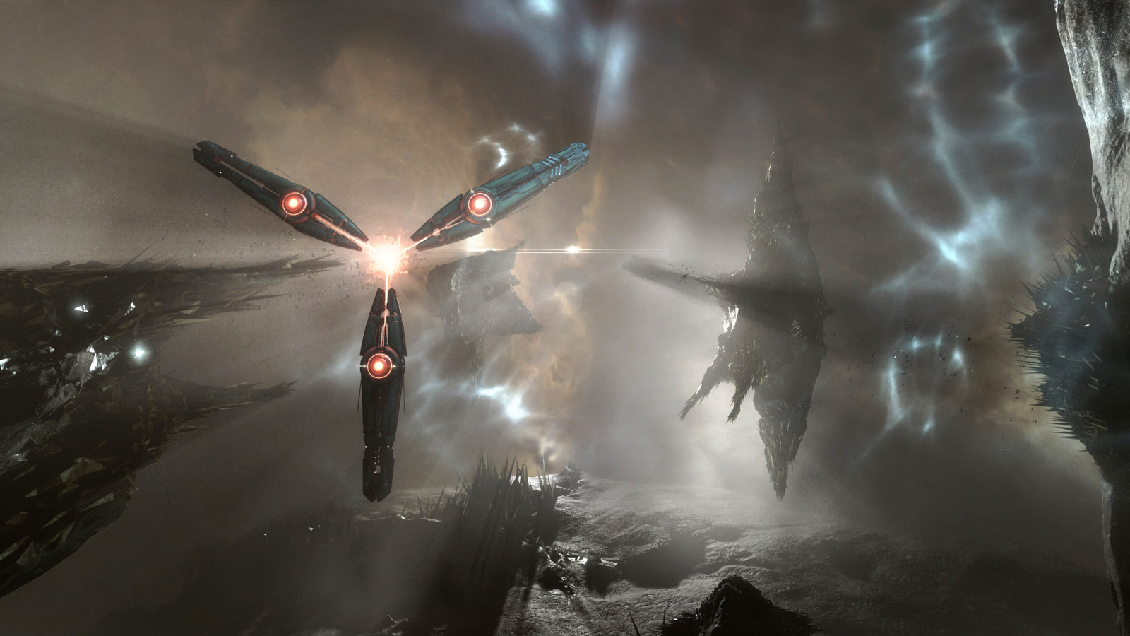 Eve Online Gameplay